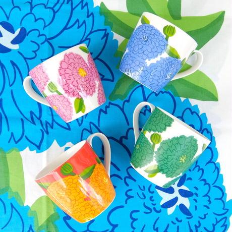 イッタラ Iittala × マリメッコ marimekko <Primavera>マグカップ(グリーン)