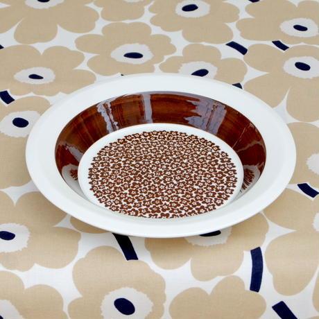 ARABIA アラビア ファエンツァ(ブラウン)スープ皿