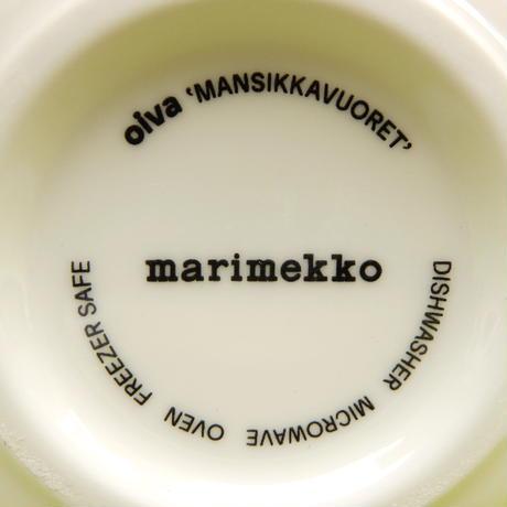 マリメッコ marimekko <Mansikkavuoret>ボウル
