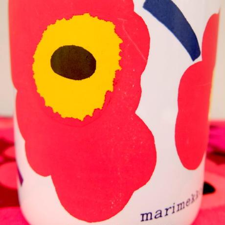 マリメッコ marimekko <Unikko>OLDマグカップ(レッド)
