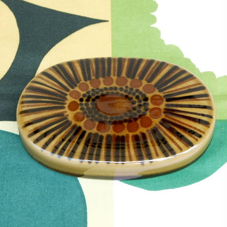 ARABIA アラビア コスモス(グリーン)バターケース