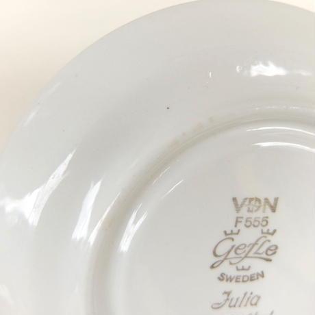 ゲフレ Gefle ジュリア コーヒーカップ&ソーサー