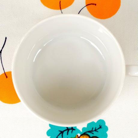ロールストランド Rorstrand パルマ カップ&ソーサー オレンジ