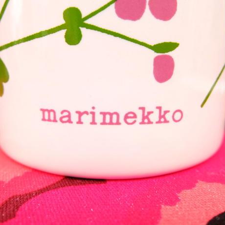 マリメッコ marimekko <Lauantaiehtoo>OLDマグカップ