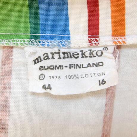 マリメッコ marimekko ヴィンテージ <Kirjo>シャツワンピース