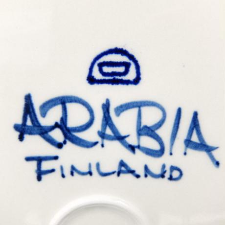 ARABIA アラビア アネモネ プレート(XL)