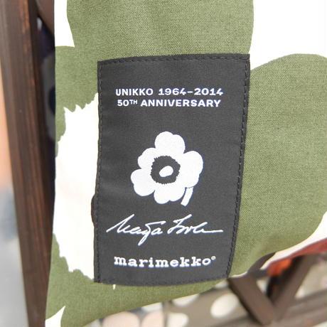 マリメッコ marimekko <Unikko>50th Anniversary ファブリックバッグ