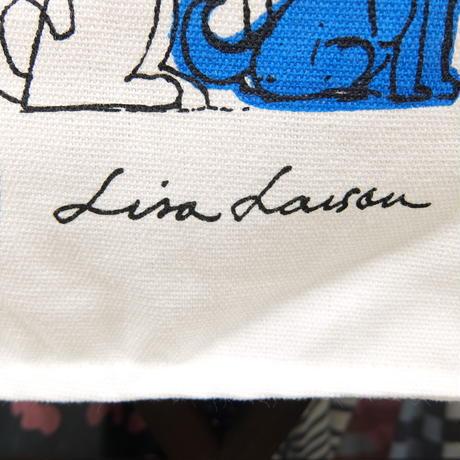 リサ・ラーソン Lisa Larson エコバッグ(犬)スウェーデン限定