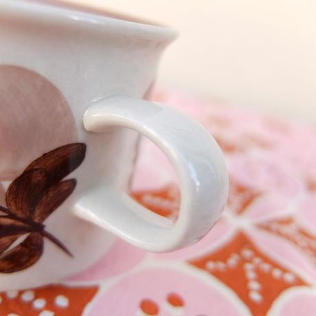 ARABIA アラビア コラーリ コーヒーカップ&ソーサー(a)