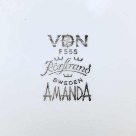 ロールストランド Rorstrand アマンダ プレート(S)