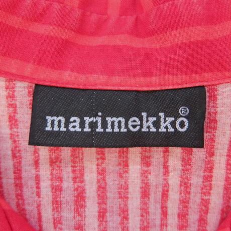 マリメッコ marimekko ヴィンテージ ヨカポイカシャツ(レッド)