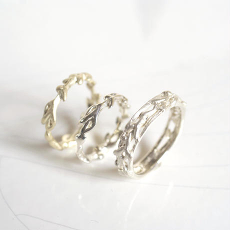 plant line rings - ladies sv