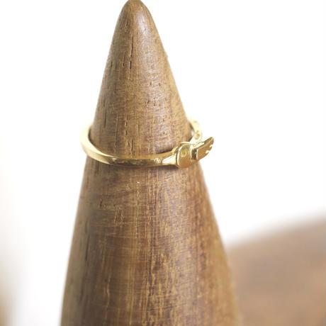 motif ring 2 - gold