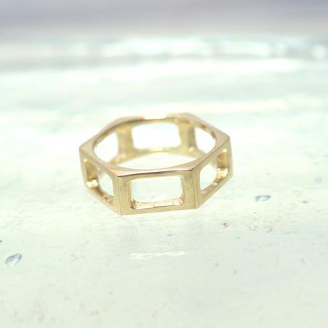 motif ring 7 - gold