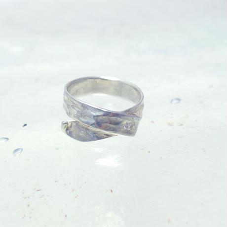 motif ring 4 - silver