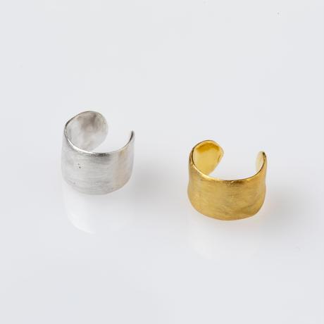 テクスチャーイヤーカフ/ silver