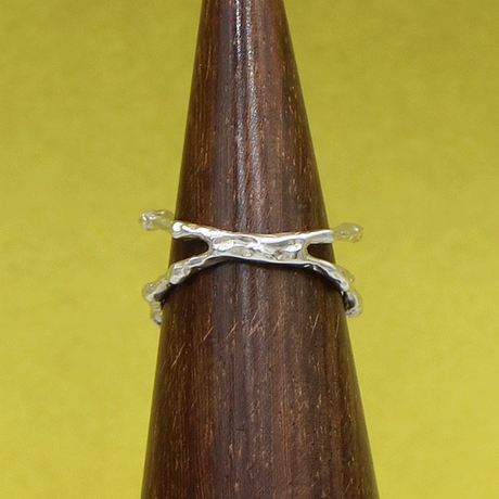 craft line ring / silver