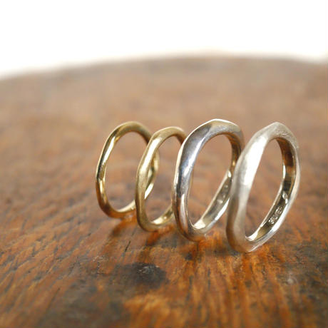 claft line rings 1 - men's silver