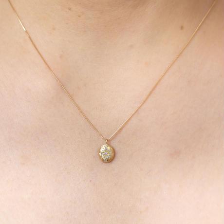 クリスタルダイヤK18ネックレス