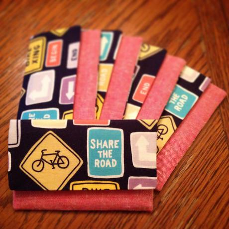 カードケース Traffic sign & Bicycle