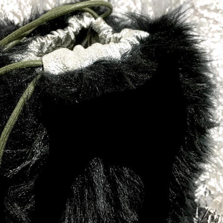 only one fur bag
