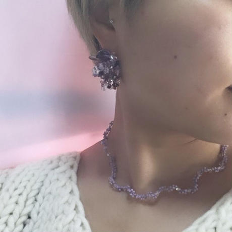 CGK-1 purple2/necklace
