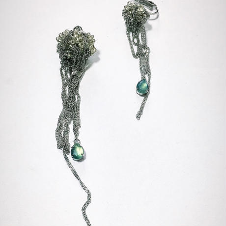 Jerry metal fish/earring