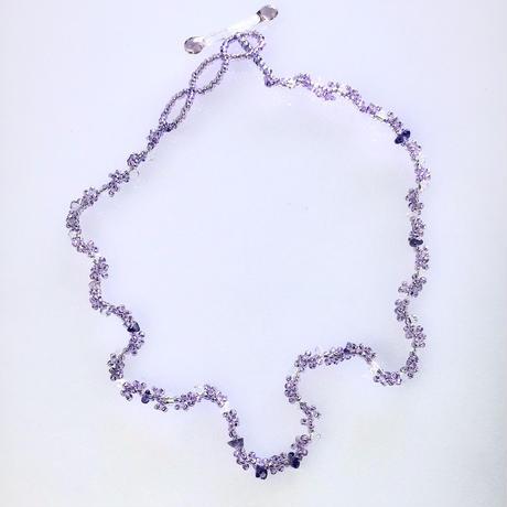 CGK-1 purple1/necklace