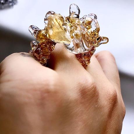 GENSEKI   ring /citrine(シトリン)
