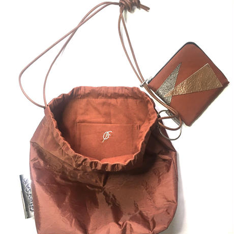 shaka shaka bag/BROWN