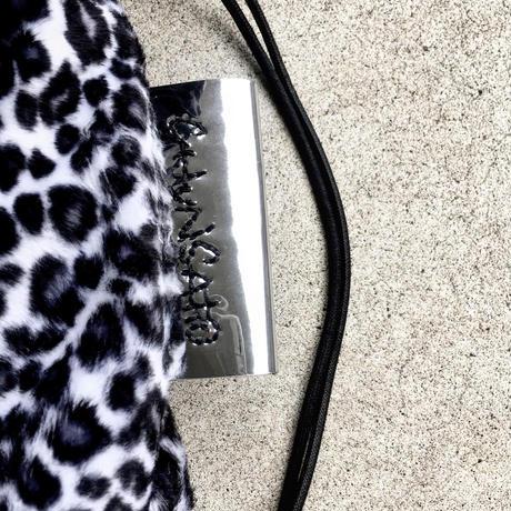 ANIMAL  BAG / LEOPARD ( black &  white )🐄