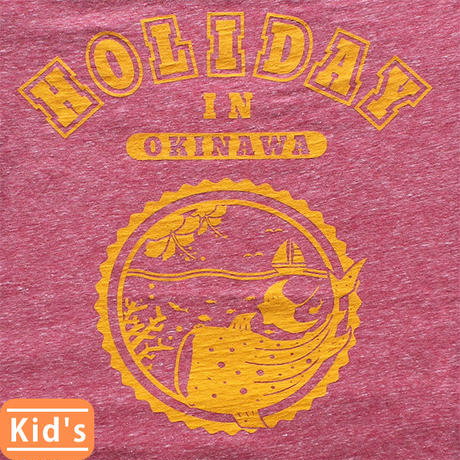 HOLIDAY 子供用:レッド