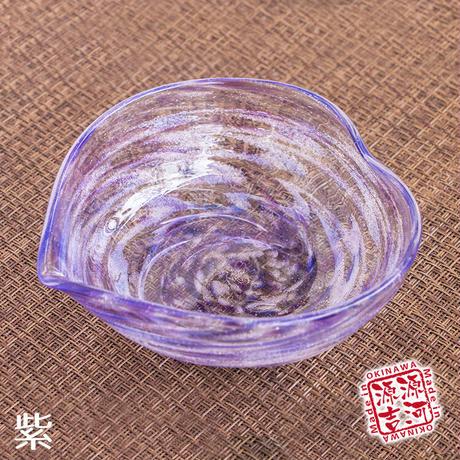 シェルクリア サラダボウルハートS 9色