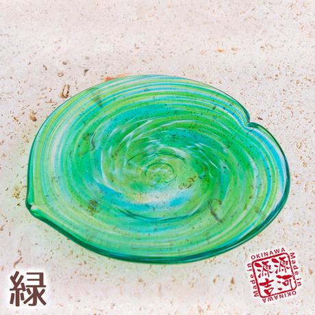 美ら海 平皿ハートS 7色