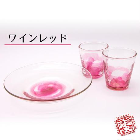 源河源吉 源河の泡 お皿グラス2個セット