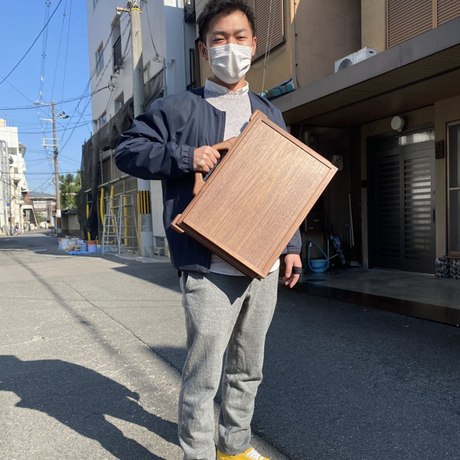 KAGUKA アタッシュタイプ(小)  ウォールナット