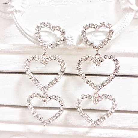 3 heart pierce(No.31013)