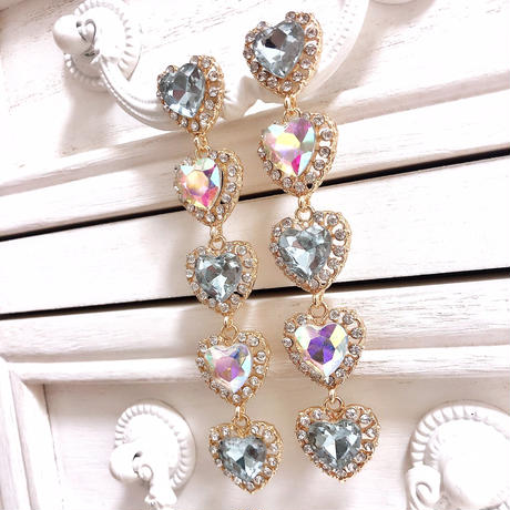 idol look biljjou earring(No.31008)