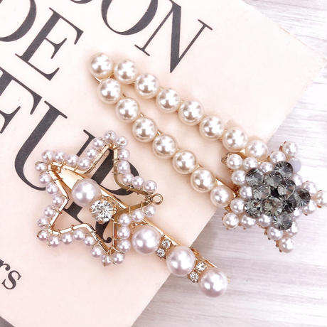 Two pattern star clip set