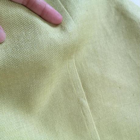 3色展開☆夏のリネン☆トライアングルバッグ Mサイズ