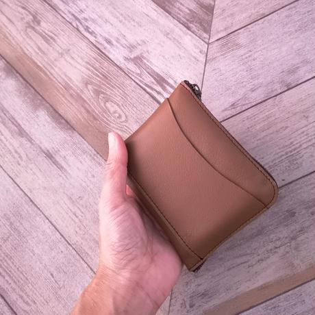 縦入れカードで使い易い★コンパクト財布