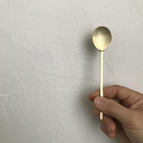 真鍮スッカラ デザートスプーン
