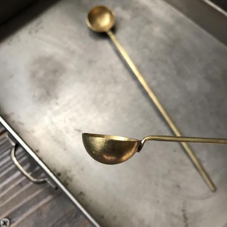 真鍮製 薬匙
