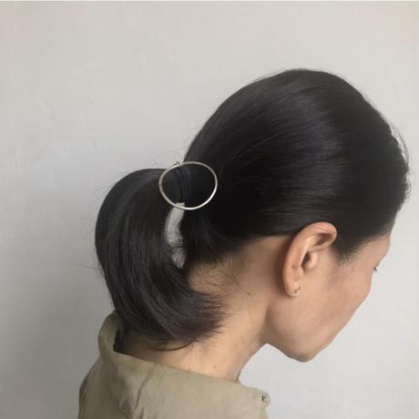 RING Hair Tie     Brass