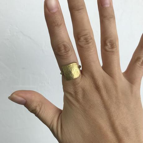 Square Twist Ring[brass]