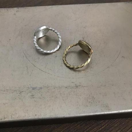Round Twist Ring[brass]