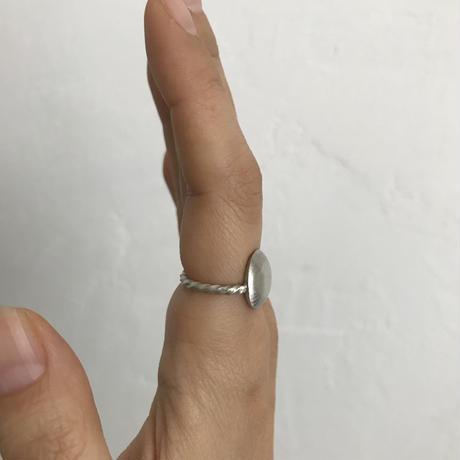 Round Twist Ring[silver]