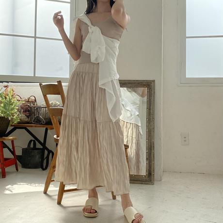 【再入荷】crepe skirt CL031