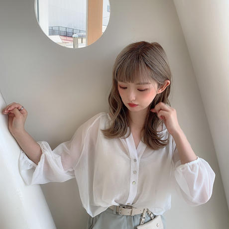 see-through blouse  CL042