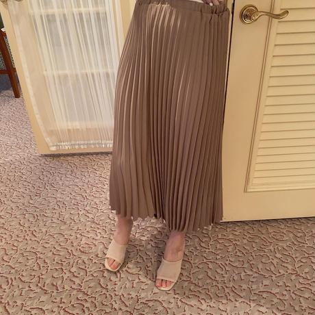 【再入荷】cocoa pleats skirt  CL016